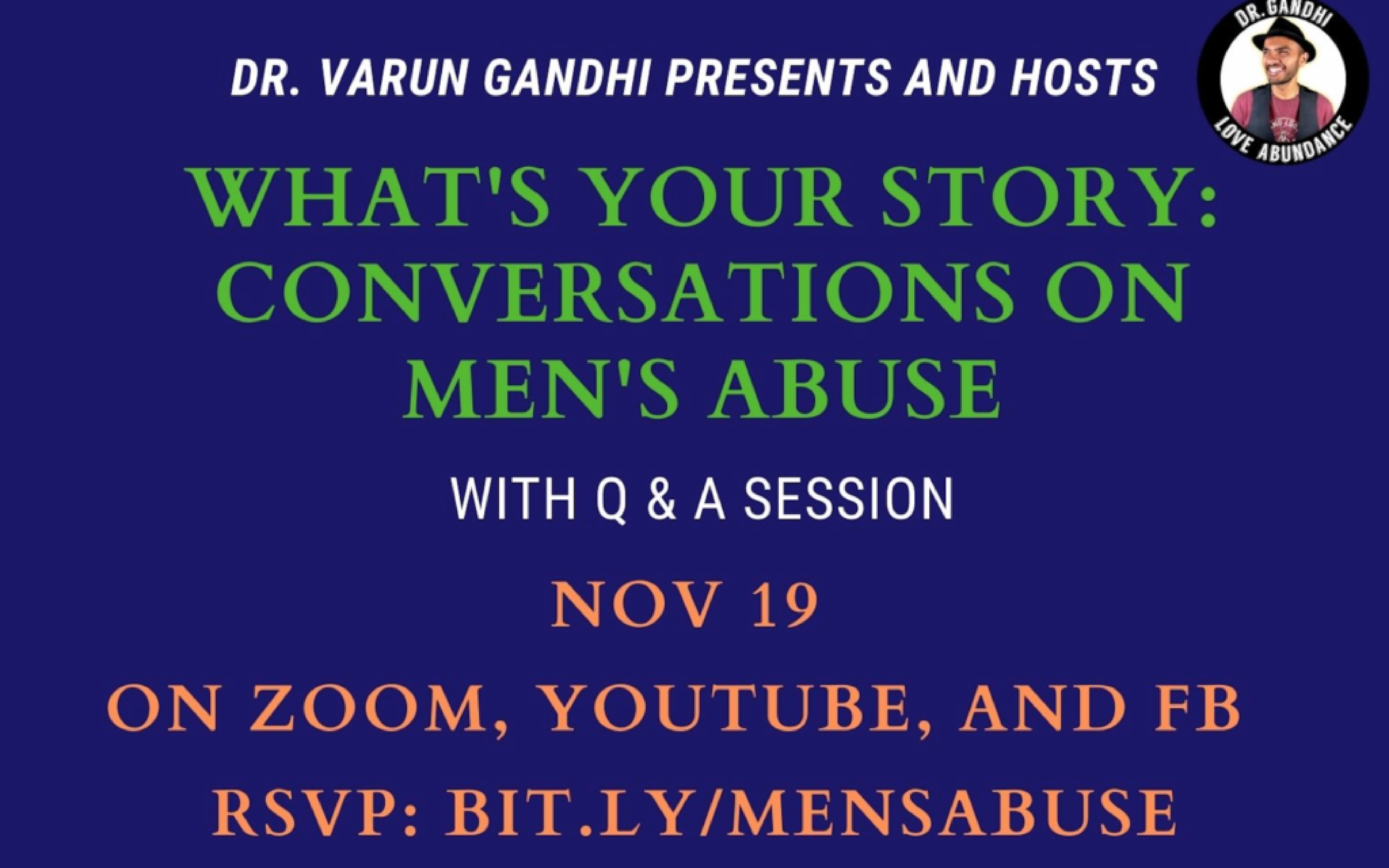 What's Your Story: Conversations on Men's Abuse