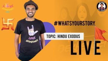 What's Your Story Conversations on Hindu Exodus