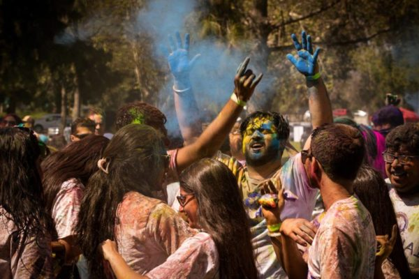Holi 2019 was attended by over 1,000 people who loved the music by Fusion Sounds, the food vendors, the colors, and the dancing!!