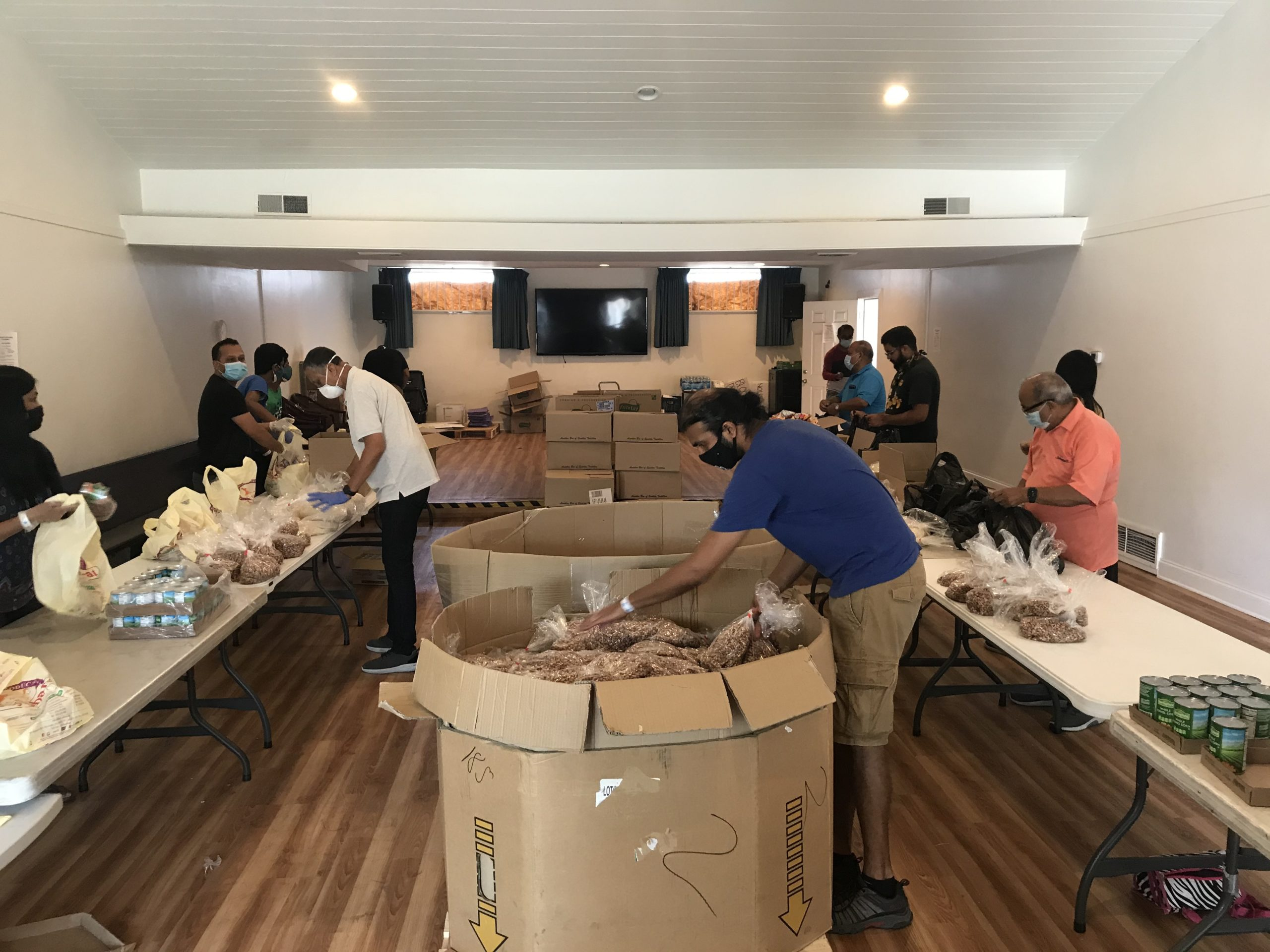 The Joy of Sharing Foundation donated the goods to fund this 21 week project. Over these weeks, we have served more than 40,000 people.
