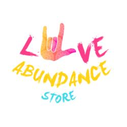 Love Abundance logo white bkg