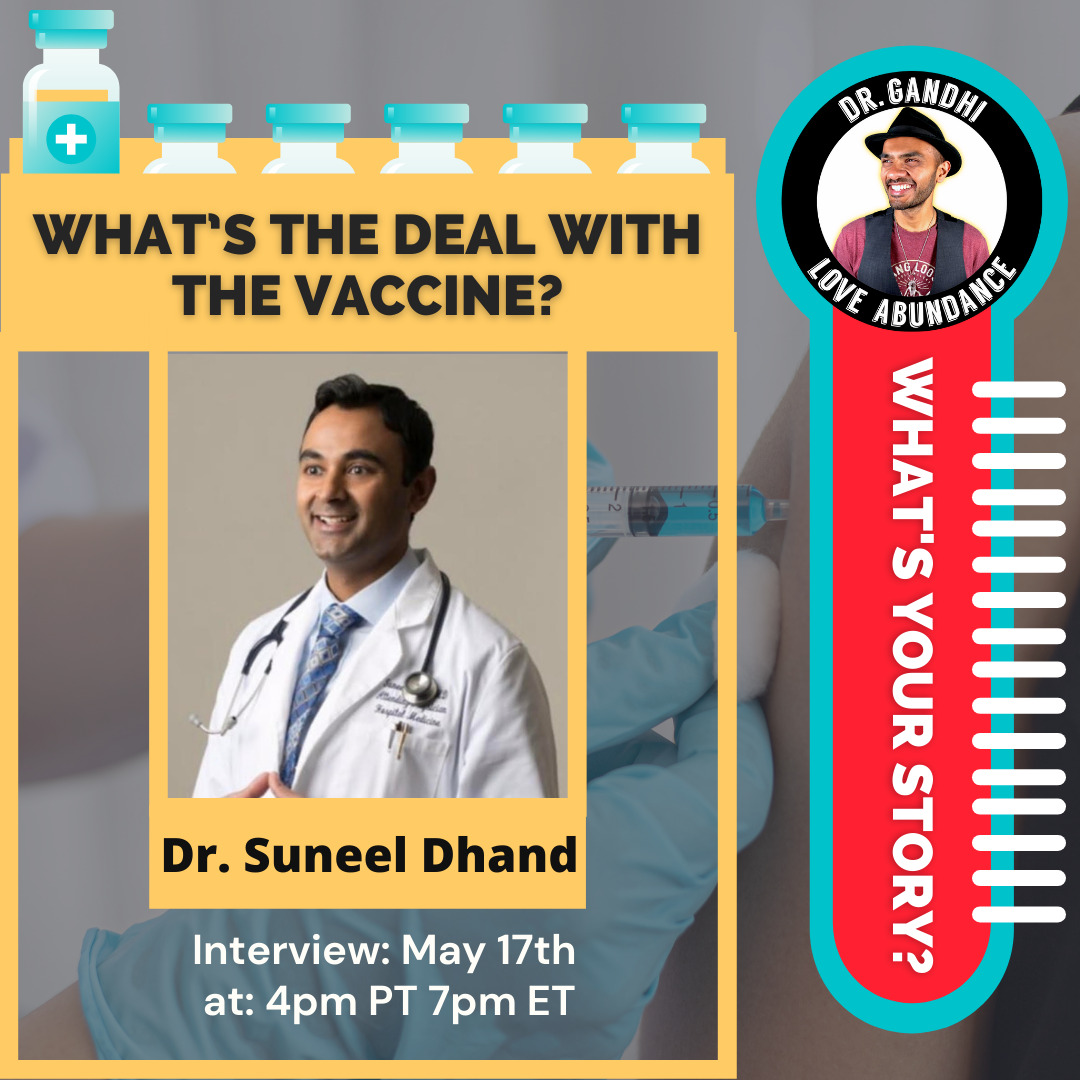 Suneel Dhand on What's Your Story