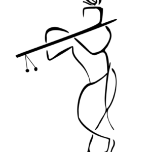 Lord krishna drawing