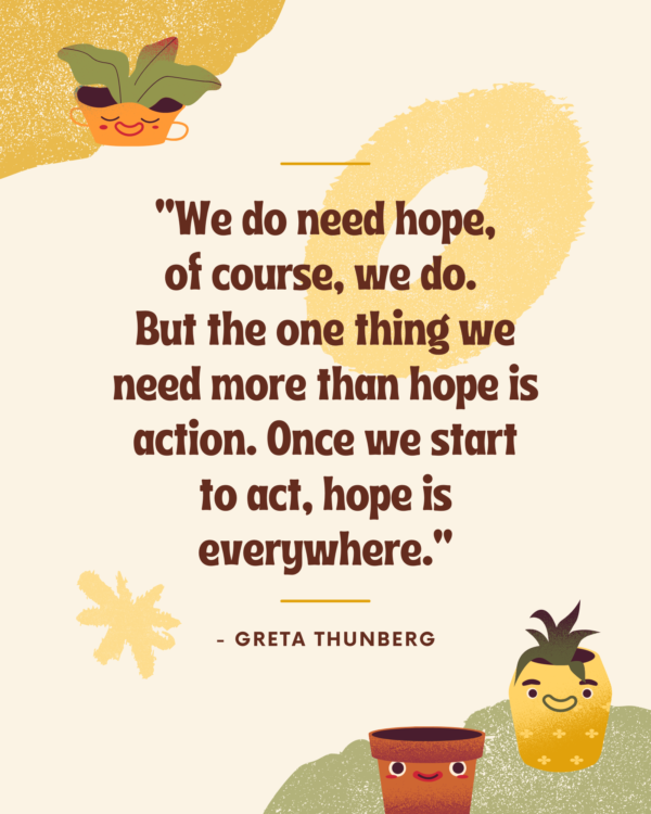 We do need hope, of course, we do