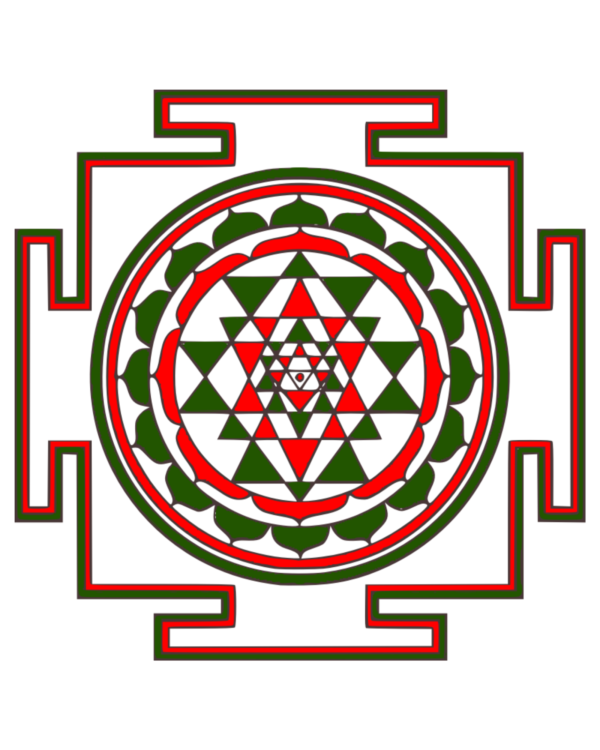 Shri Lakshmi Yantra: Attract money Poster